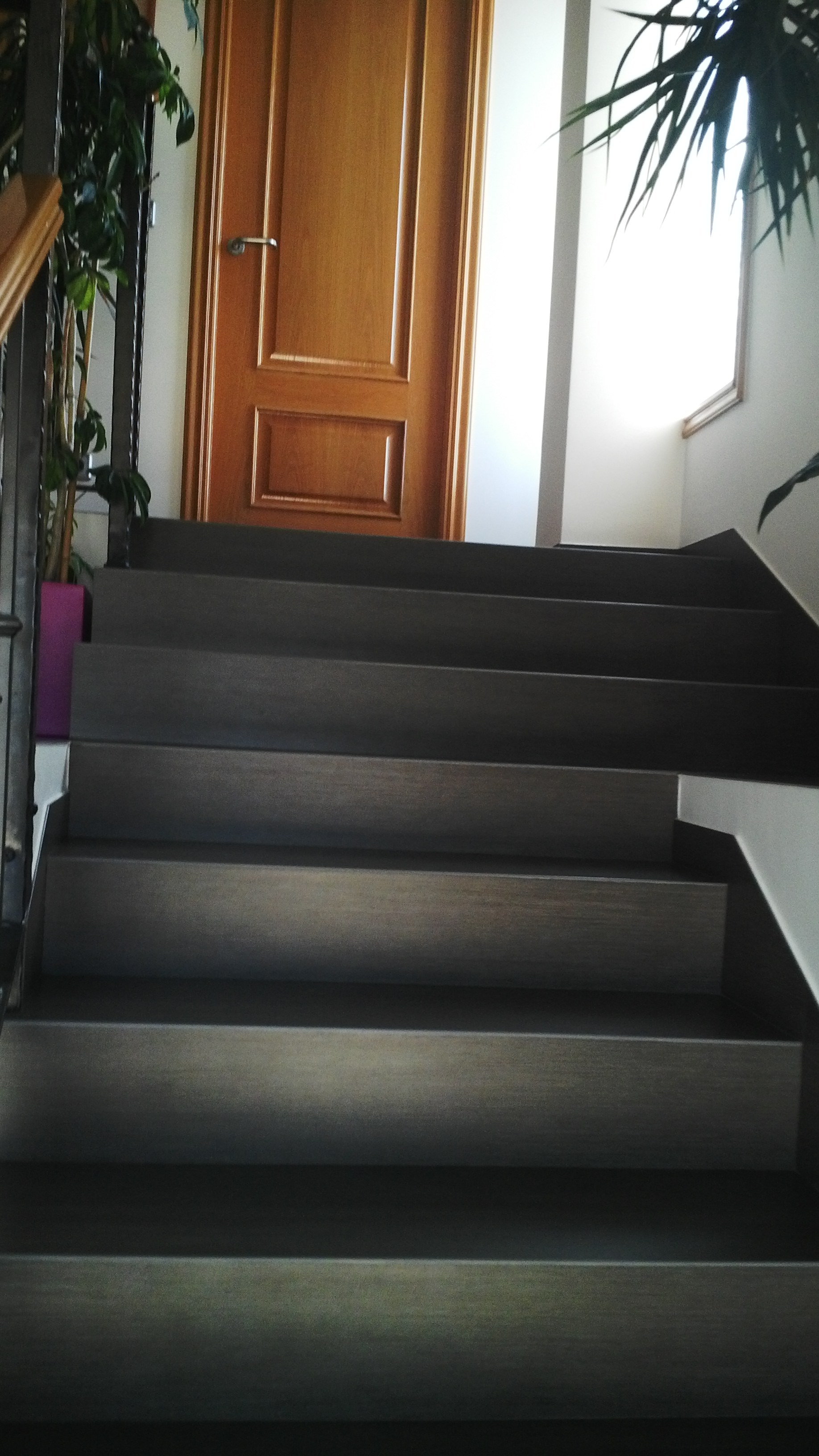 Escaleras en techlam